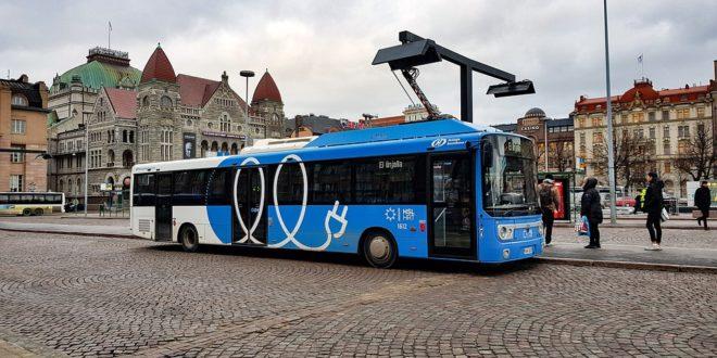 Elektromos autóbuszok beszerzésére pályázik a Volánbusz