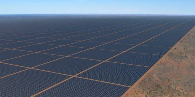 Épül a világ legnagyobb napelem erőműve