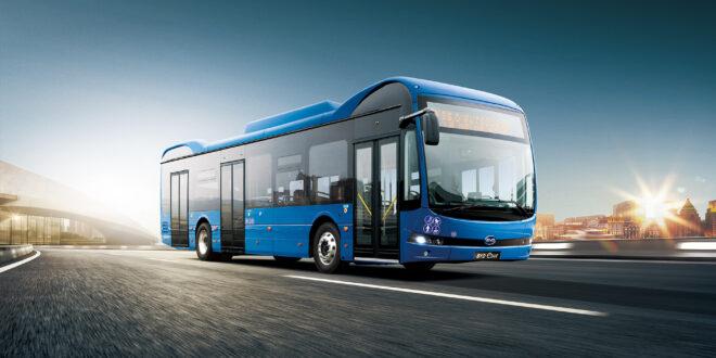 8 elektromos busz érkezik Pécsre