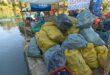9 tonna hulladékot gyűjtöttek össze a Bodrogból
