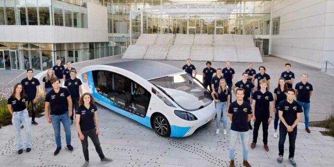 Ultramodern napelemes lakókocsit építettek holland diákok